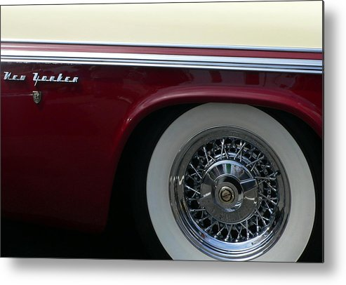 Chrysler New Yorker Metal Print featuring the photograph Classic Chrysler New Yorker by Jeff Lowe