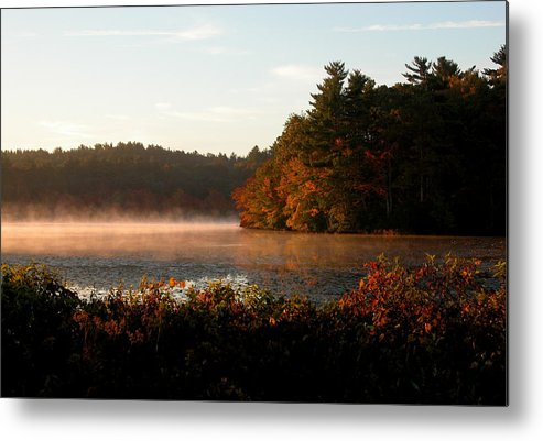 Massachusetts Metal Print featuring the photograph Morning Lake by Kenneth Drylie