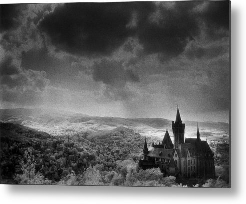 Halloween Metal Print featuring the photograph Schloss Wernigerode by Simon Marsden