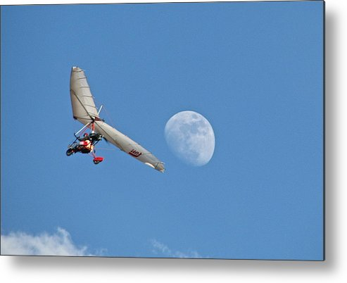 Ultralight Metal Print featuring the photograph Sky Soul by Penny Anast