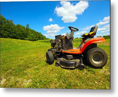 Agriculture Metal Print featuring the photograph Summertime. by Kelly Nelson