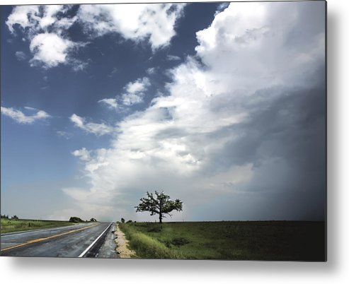 Landscape Metal Print featuring the photograph After The Storm by Al Mueller