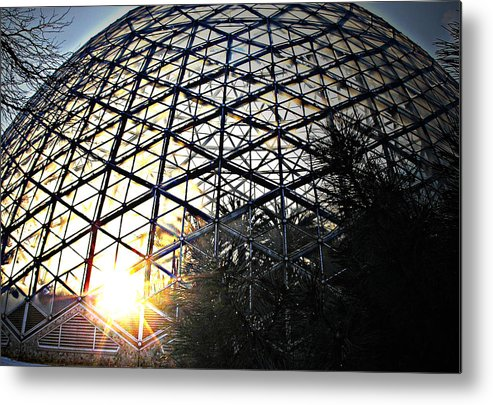 Sunset Metal Print featuring the photograph Milwaukee Sunset by Terence McSorley