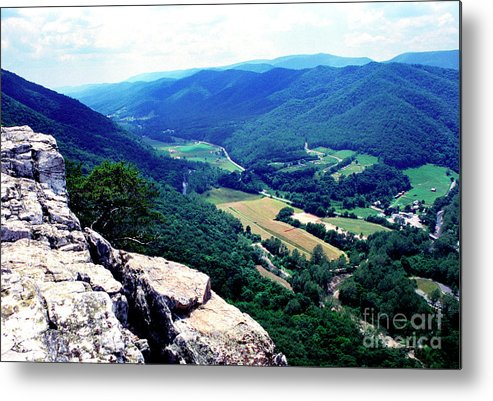 West Virginia Metal Print featuring the photograph View From Atop Seneca Rocks by Thomas R Fletcher