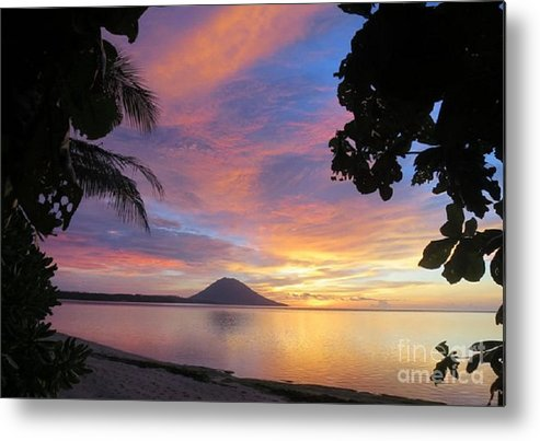 Tropics Metal Print featuring the photograph A Distant Island by Rod Jellison