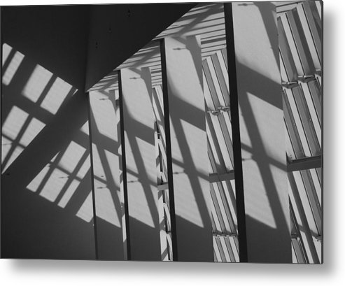 Shades Metal Print featuring the photograph Asylum Windows by Rob Hans