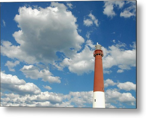 Lighthouse Art Metal Print featuring the photograph Barnegat Lighthouse 28 by Joyce StJames