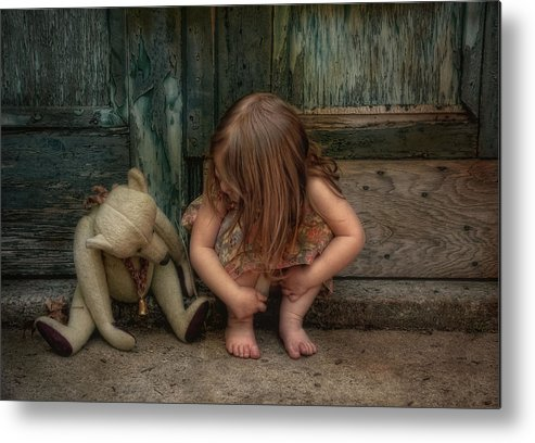 Bear Metal Print featuring the photograph Bear Feet by Robin-Lee Vieira