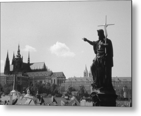 Travel Metal Print featuring the photograph Build My Church by Allan McConnell