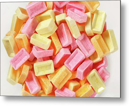Candy Metal Print featuring the digital art Candy by Mery Moon