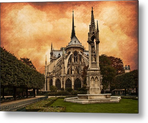 Cathedral Metal Print featuring the digital art Cathedral by Mick Burkey