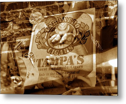 Cigars Metal Print featuring the photograph Cigars 7 by David Lee Thompson
