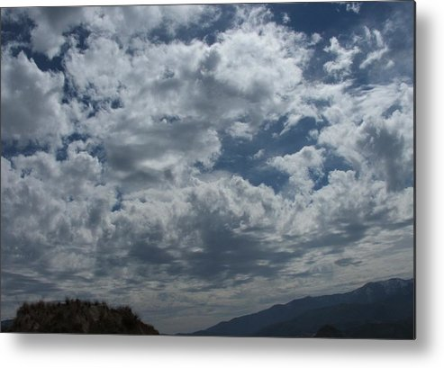 Clouds Metal Print featuring the photograph Daydreaming by Shari Chavira