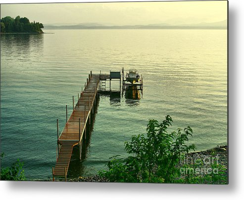 Lake Metal Print featuring the photograph Evening In Charlotte by Deborah Benoit