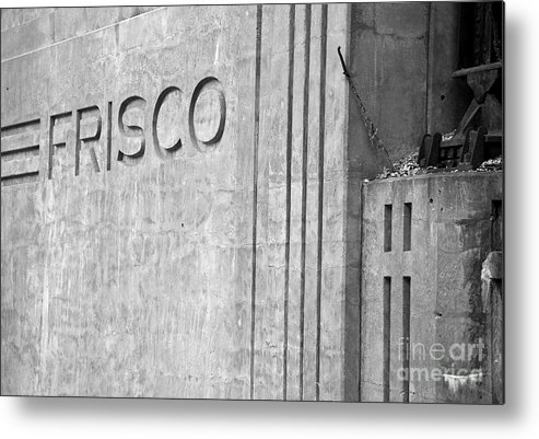 Landscape Metal Print featuring the photograph Frisco Lines by Fred Lassmann