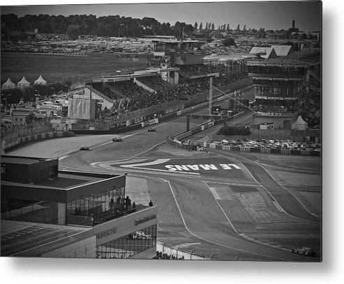 Lemans Metal Print featuring the photograph From The Ferris Wheel by Eugene Kowalski