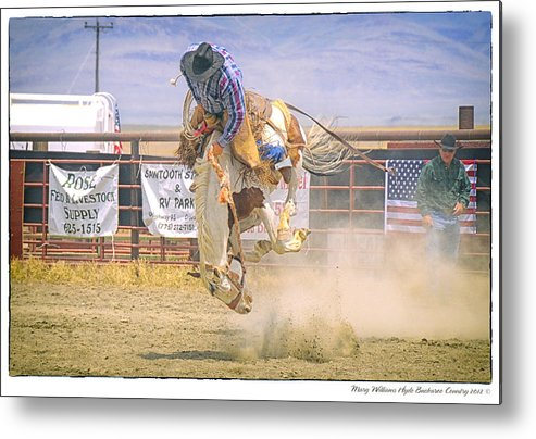 George Metal Print featuring the photograph George Barton Mcdermitt Nevada 2008 by Mary Williams Hyde