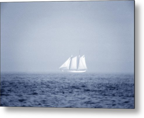 Sailing Metal Print featuring the photograph Ghost Ship by Frank Mari