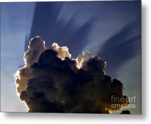 God Metal Print featuring the painting God Speaking by David Lee Thompson
