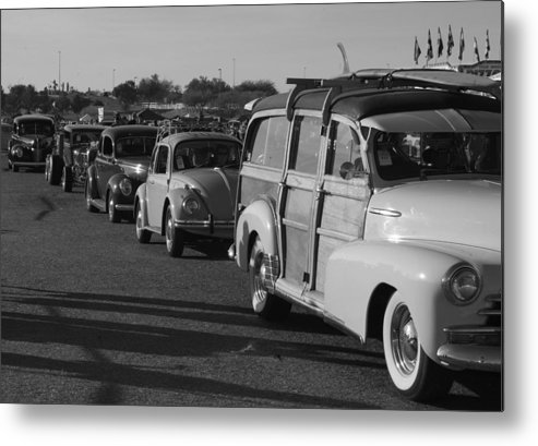 Classic Cars Metal Print featuring the photograph Good Old Days by Timothy Mangino