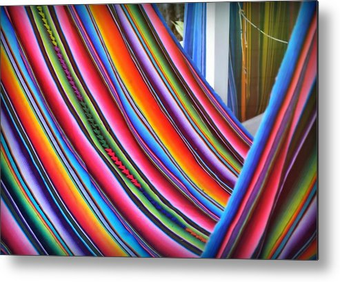 Key Metal Print featuring the photograph Hammock Hue by JAMART Photography