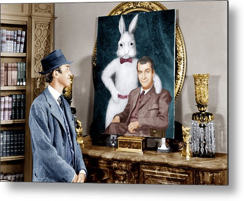 1950 Movies Metal Print featuring the photograph Harvey, James Stewart, 1950 by Everett