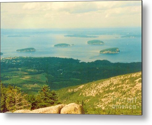 Acadia Metal Print featuring the photograph Island Hopping by Desiree Paquette