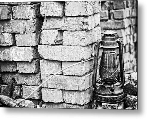 Lamp Metal Print featuring the photograph Lamp by Anton Tsvetkov