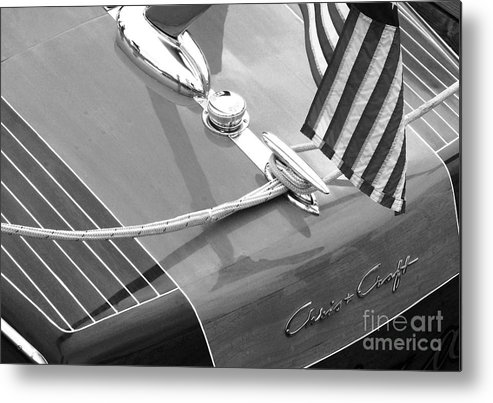 Chris Craft Metal Print featuring the photograph Late 1940's Chris Craft Custom by Neil Zimmerman