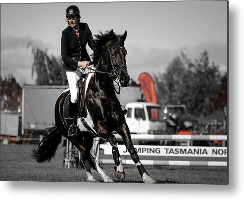 Horse 11 Metal Print featuring the photograph Longford 55 by Wild Artistic