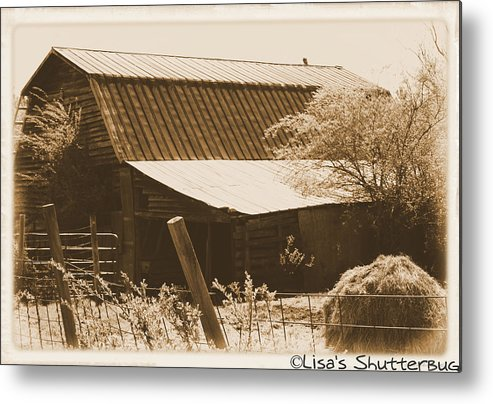 Barn Metal Print featuring the photograph Mcdonald 1 by Lisa Johnston