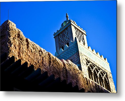 Epcot Metal Print featuring the photograph Morocco by Sarita Rampersad