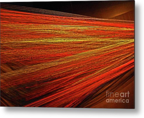 Color Metal Print featuring the photograph Moving Outward by Elizabeth Hoskinson