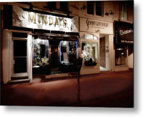 Huntington Metal Print featuring the photograph Mundays by Michael Simeone