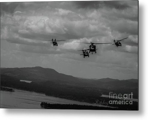 Metal Print featuring the photograph Playing In The Clouds II by Shawn Ripley