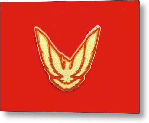 Pontiac Firebird Emblem Metal Print By Ram Vasudev