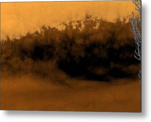 Digital Metal Print featuring the digital art Sandstorm On Arrakis by Richard Coletti