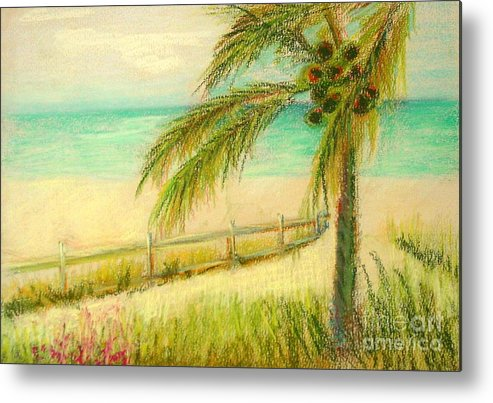 Landscape Metal Print featuring the painting Sanibel Breeze      Copyrighted by Kathleen Hoekstra