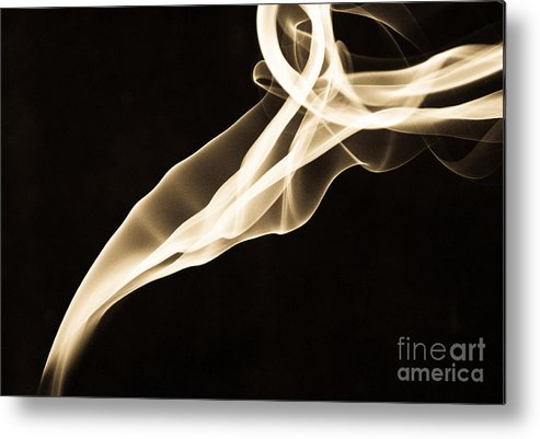 Smoke Metal Print featuring the photograph Smoke And Mirrors by Valerie Morrison