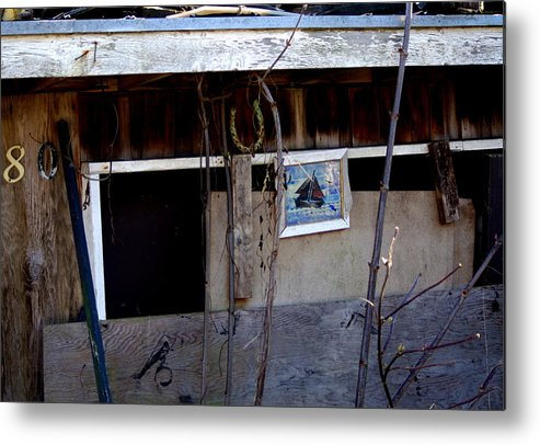Torn House Metal Print featuring the photograph Solo Exhibition by Ming Yeung