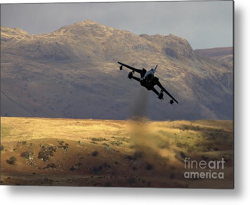 Great Britain Metal Print featuring the photograph Somewhere In Wales by Angel Ciesniarska
