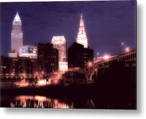 Cleveland Metal Print featuring the photograph Standing Tall by Kenneth Krolikowski