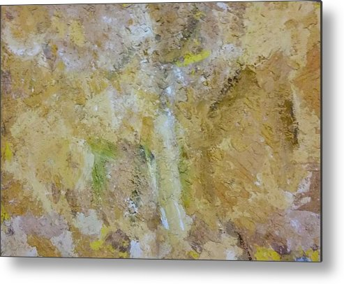 Mixed Media Metal Print featuring the mixed media Summer by Eleni Papakonstanti
