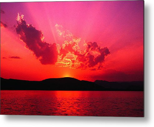 Sunset Metal Print featuring the photograph Sunset II by James Zuffoletto