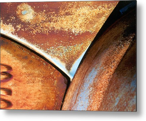 Abstract Metal Print featuring the photograph The Feminine Mystique by Steve Karol
