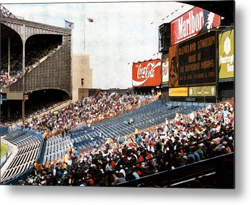 Cleveland Metal Print featuring the photograph The Grand Finale by Kenneth Krolikowski
