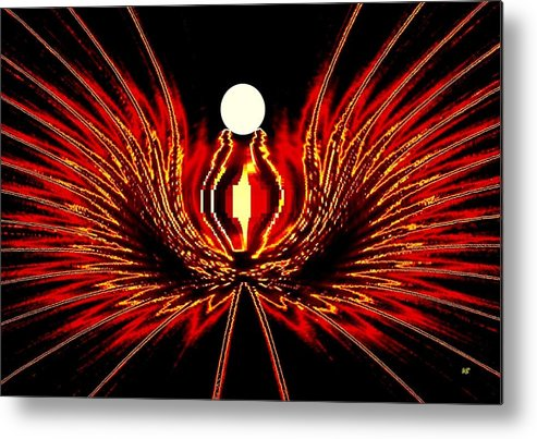 Abstract Metal Print featuring the digital art The Lost Pearl by Will Borden