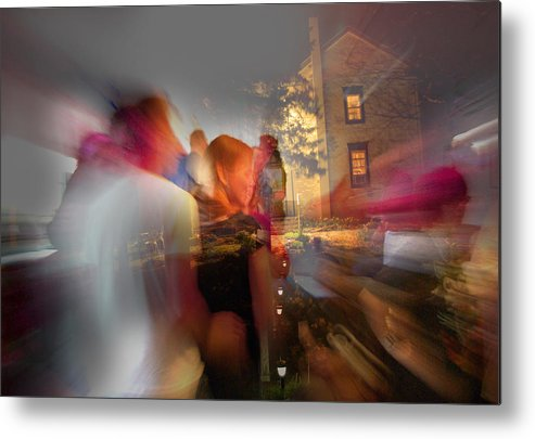 When Night Falls Metal Print featuring the photograph The Night Gerald Turned 60 by Jay Ressler