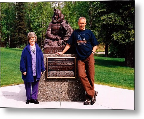North America Metal Print featuring the photograph Three Champions ... by Juergen Weiss