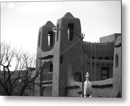 Architecture Metal Print featuring the photograph Town Hall by Rob Hans